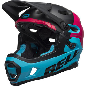 Bell Super DH MIPS Helmet matte/gloss black/berry/blue